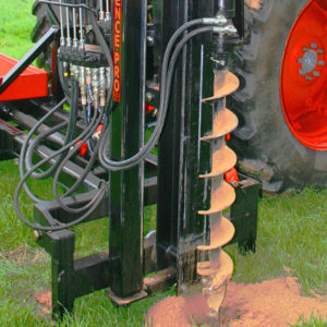Fencepro Option: Hydraulic Auger