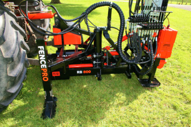 Rotational base Fencepro RB800 to rear